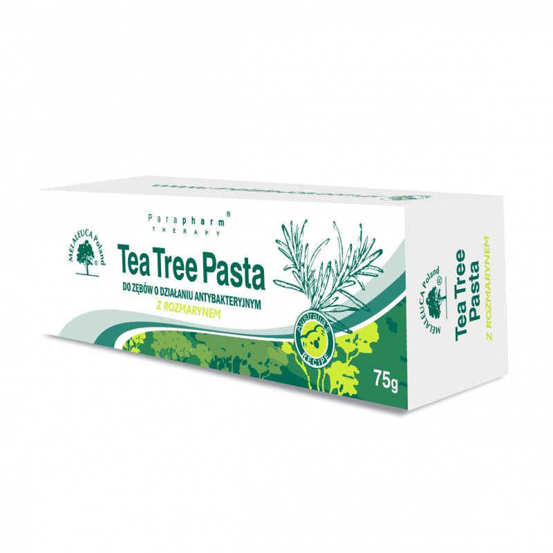 Tea Tree Pasta do Zębów z Rozmarynem