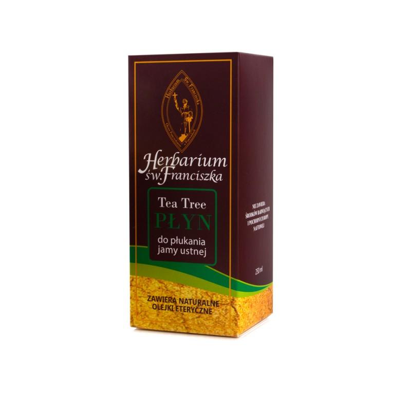 franciszkański płyn do płukania jamy ustnej tea tree