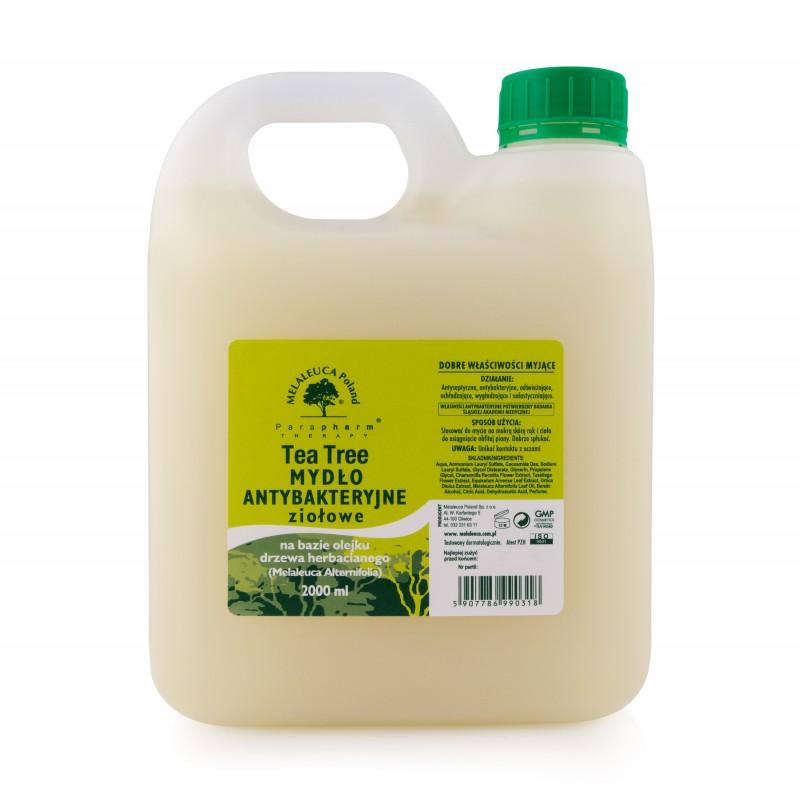 Tea tree mydło antybakteryjne ziołowe 2l