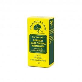 Tea tree oil naturalny olejek z drzewa herbacianego