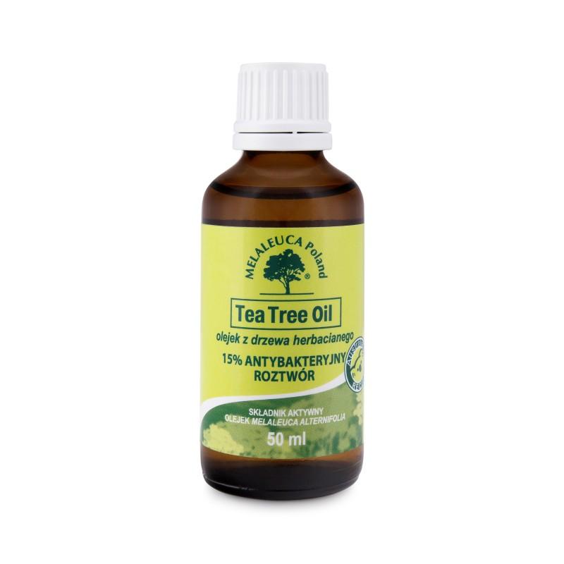15% antybakteryjny roztwór Tea Tree oil
